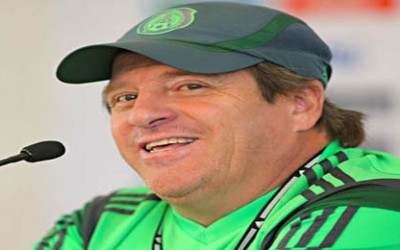 Miguel Herrera, entrenador de Mexico Mundial 2014