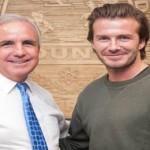 Beckham acuerda construir estadio junto al de los Miami Heat