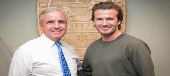 David Beckham Alcalde Carlos-Gimenez