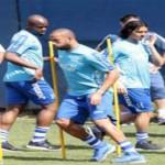 Wilson Palacios impreme alegría en los entrenamientos
