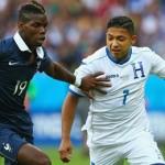Honduras cayó en su debut contra Francia