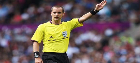 Arbitro Mark Geiger