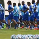 Honduras trabajó en espacios reducidos en primer entrenamiento