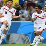 Con la  base del Mundial de Brasil, Costa Rica jugará Copa América Centenario