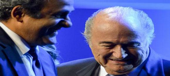Michel Platini Blatter
