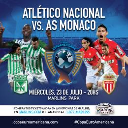 Atletico Nacional AS Monaco