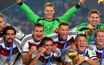 Alemania Campeones Mundiales 2014