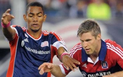 Chicago Fire vs New England Jerry Bengtson