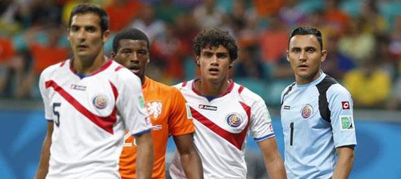 Cos Rica Holanda Brasil 2014