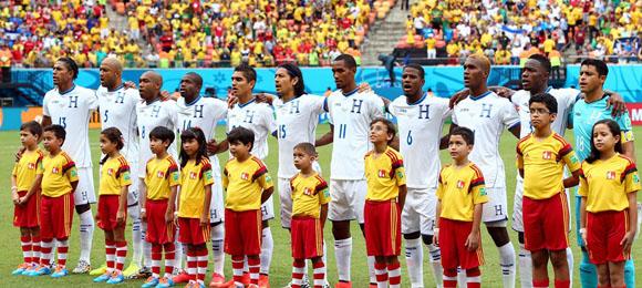Honduras v Suiza