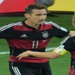 Klose 20 partidos,16 en goles en Mundiales nuevo récord
