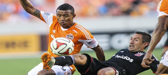 Luis Garrido vs DC United 3 Ago 2014