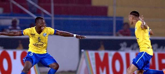 Henry Bemudez gol del Victoria vs Vida