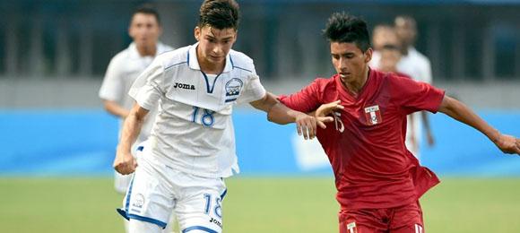 Honduras Paolo Belloni vs Peru Sub17