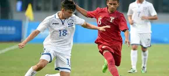 Paolo Belloni, el único jugador de la Selección Sub-15 de Honduras que juega en el extranjero, destacó en el reciente torneo de Nakín, China.