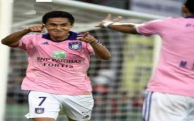 Andy Najar con el Anderlecht de Belgica y Oscar Boniek García en el Houston Dynamo, fueron los hondureños más destacados en el fin de semana.