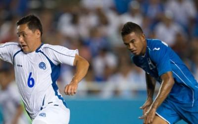 El Salvador con un gol de Richard Menjivar rompió las cadenas el domingo en el Estadio Cotton Bowl en Dallas, Texas.(Foto cortesía CONCACAF
