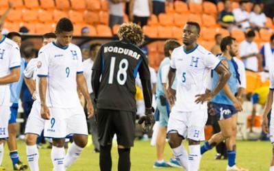Honduras derrotados vs Guatemala
