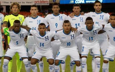 XI Titular de Honduras v Belice el 4 Sep, 2014 en el RFK de Washington en la Copa Centroamericana