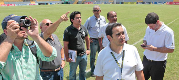 Concacaf inspeccion estadios
