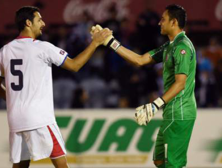 Celso Borges Keylor Navas