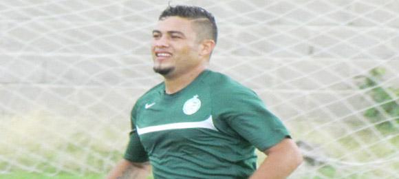 Orbin Paz Juticalpa FC 2014