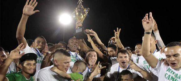 Campeones Apertura 2014 Juticalpa FC