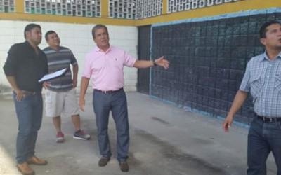 Jorge Luis Pinto visitó el estadio Olímpico de SPS el 20 de Diciembre 2014