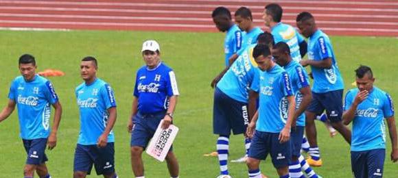 Entreno Honduras 26012015
