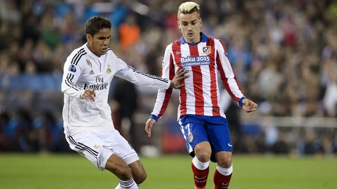 Atletico v Real Madrid