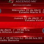 Necaxa y Correcaminos inician de locales semifinales Ascenso LigaMx