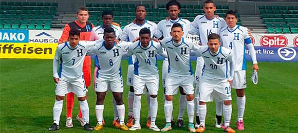 Selección Sub20 en Austria