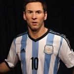 Nueva York  y  Su Estatua de Cera de Messi