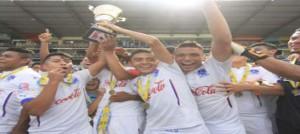 Olimpia venció dos goles a uno a Real España el domingo para alzarse por tercer vez consecutiva el Torneo de Reservas de Honduras. En en global, los juveniles del Olimpia, ganaron 5-3.