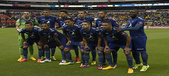 Motagua en el Estadio Azteca