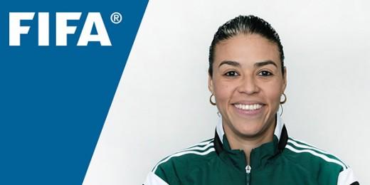 Melissa Pastrana, que se ha convertido en la abanderada del arbitraje hondureño, estará en su segundo evento de elite Mundial luego que la Fifa anunció la lista de los que dirigirán los partidos de los torneos de fútbol  en Río de Janeiro 2016.