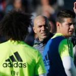 Zidane da casi por hecho salida de James Rodríguez del Madrid