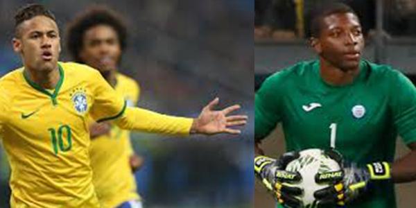 Neymar y Luis Buba Lopez