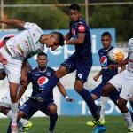Platense puso al desnudo fragilidad de la defensa del Motagua