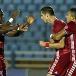FC Dallas de Maynor Figueroa contra Arabe Unido en cuartos de final