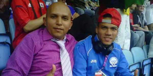 Manrique Amador y Arnold Peralta