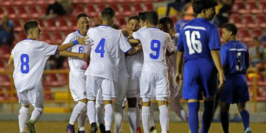 La Sub-17 de Costa Rica venció 4-0 a Belice y el sábado enfrenta a Nicaragua.