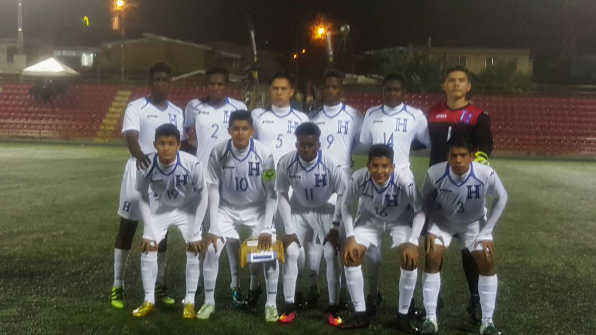 Sub 17 de Honduras 2016