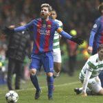 Con penal de Emilio Izaguirre, Celtic cayó ante el FC Barcelona