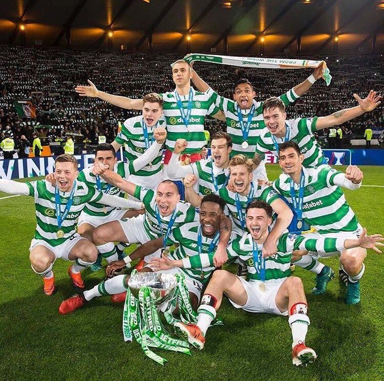 El Celtic de Glasgow consiguió además, sumar la numero 100 de su historia entre las distintas competiciones. (Foto cortesia Celtic FC)