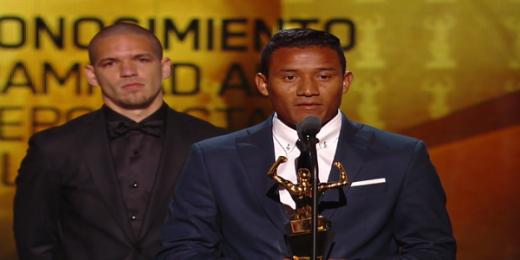 Luis Garrido es un ejemplo de tenacidad, gallardía que le valió para ganar el Premio Mohamed Ali