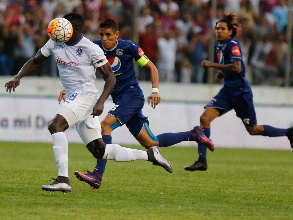 Olimpia y Motagua igualaron 1-1 en el partido de vuelta de la semifinal del Torneo Apertura 2016