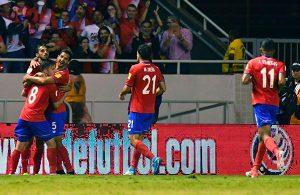 Costa Rica contra Trinidad