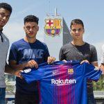 Anthony Lozano y Vitinho a futuro podrían jugar en la Liga con el Barca