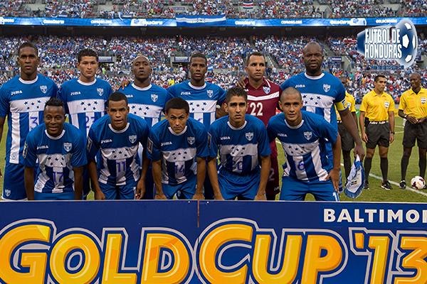 Honduras v Costa Rica Copa Oro 2013